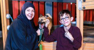 Abu Dabili Anne Otizm İle Hayvanlar Arasındaki Bağa Sahip Çıkıyor