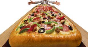 Pizzanız kaç metre olsun?