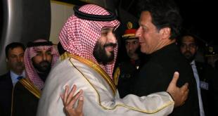 Veliaht Prens Pakistan'da böyle karşılandı