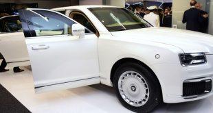 Putin'in limuzini, IDEX 2019'da tanıtıldı