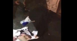 İki Suudi hemşirenin müdahalesi sosyal medyada olay oldu