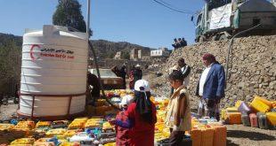 Taiz'deki 20 bin Yemenli suya erişim sağlandı