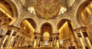 Dünyanın 3. büyük camisi: Şeyh Zayed Cami