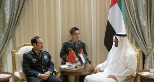 Muhamed bin Zayed Çin Savunma Bakanı Wei Fenghe'yi kabul etti