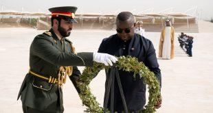 Sierra Leone Başkanı Julius Maada Wahat Al Karama'yı ziyaret etti