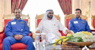 Dubai Hakimi, BAE'nin ilk astronotlarını ağırladı