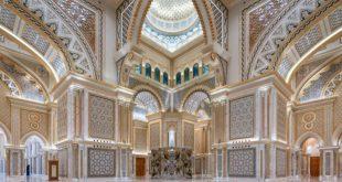 Göz kamaştıran Abu Dabi Başkanlık Sarayı…