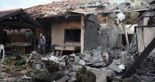 Gazze'den, Tel Aviv'in kuzeyindeki bir eve roket atıldı