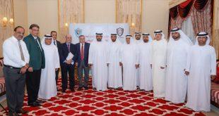 Fujairah Kraliyet Prensi, Dibba Spor Kulübü Stadyumu inşa sözleşmesi imzaladı