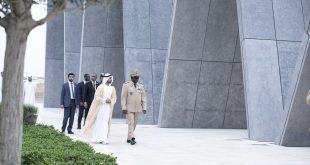 Senegalli Savunma Şefi Sheikh Gee, Wahat Al Karama'yı ziyaret etti