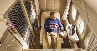 İşte Emirates'in yatak odası