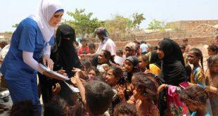 Sokotra'da kadınlar ve çocuklar için sağlık bilinci kampanyaları gerçekleştirildi