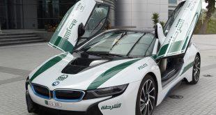 Dubai polisi elektrikli otomobillerle devriyeye başladı
