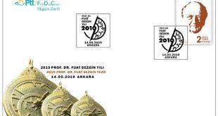 Arap-İslam Bilim Tarihi'ni yazan Prof. Dr. Sezgin için anma pulu