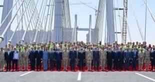 Sisi, Guinness rekoru kıran köprünün açılışını gerçekleştirdi