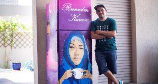 O ülkede ihtiyaç sahipleri için Ramazan'da sokaklara buzdolabı koydular