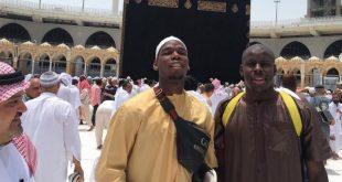 Manchester Unitedlı yıldız futbolcu Paul Pogba'dan Kabe paylaşımı