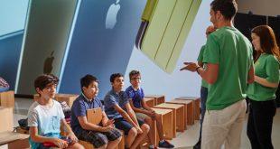 Apple'dan Abu Dabi'deki çocuklar için yaz kampı