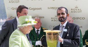 Dubai Hakimi'nin katıldığı Royal Ascot'dan kareler