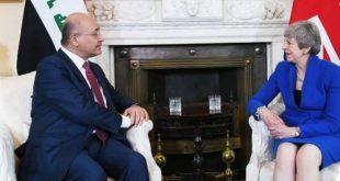 Irak Cumhurbaşkanı Salih, ikili ilişkiler için İngiltere'de