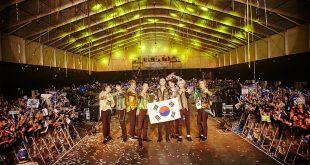 Koreli müzik grubu Suudi Arabistan'ı salladı