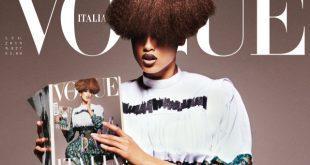 Arap kökenli model Imaan Hammam, Vogue dergisine kapak oldu