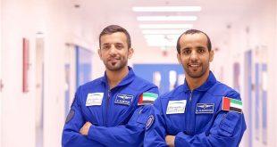 BAE'li astronotlar Avrupa'daki eğitimlerini tamamladı
