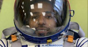 BAE'nin ilk astronotları uzay giysilerini giydi