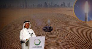 Dubai yüzen güneş panelleri kuruyor
