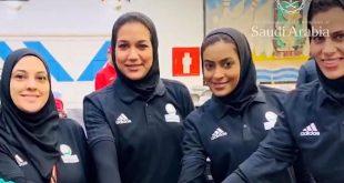Suudi Arabistan'da bir ilk! Kadın bowling takımı dünya arenasında