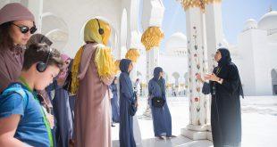 Şeyh Zayed Cami Kurban Bayramı'nda 115 bin kişi ağırladı