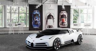 Bugatti'nin yeni hiperarabası, the Centodieci