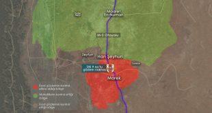 Gözlem noktası ağır saldırıların ardından Suriye ordusunun çemberine girdi