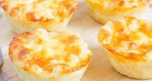 Kahvaltılık Peynirli Muffin