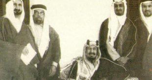 Kral Abdulaziz, yurtdışına yönelmeden önce Necid'deki kabilelerle arasını düzeltiyor
