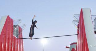 Suudi kızlar macera oyunlarında erkeklere taş çıkarttı