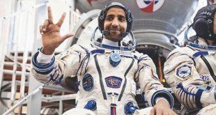 BAE'nin ilk astronotu dört çocuğunu görmeyi bekliyor