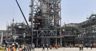 Saudi Aramco'ya ait Hurays petrol tesislerinin onarım çalışmaları görüntülendi