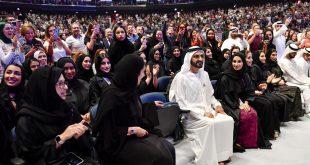 Dubai Hakimi, yaşam koçunun konuşmasını binlerce kişiyle dinledi