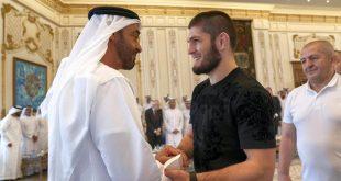 Şeyh Muhammed bin Zayed, Dağıstanlı boksörü kabul etti