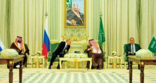 Putin'in Suudi Arabistan ziyareti