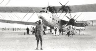 Şarka'ya 87 yıl önce inen ilk uçak: BAE'nin en eski havalimanının tarihi görüntüleri