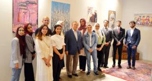 'İnsanlık' temalı Suudi Arabistan sergisi New York'ta açıldı