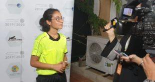 Suudi kadın futbol hakemin hikayesi