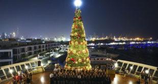Dubai Noel'e dev okyanus gemisindeki kutlamalarla başlayacak