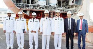 'Yeni nesil' Suudi Arabistan savaş gemisinde çalışmalar başladı