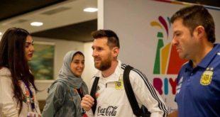 Messi, Brezilya maçı için Riyad'a geldi