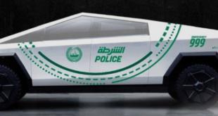 Dubai polis filosuna Tesla Cybertruck ekleyecek