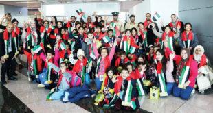 Dubai polisi Iraklı kanser hastası çocukların seyahatini kolaylaştırdı