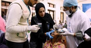 Nur Dubai, Bangladeş'te 7 bin 100 hastayı tedavi etti